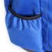 龙脉系列足球双肩背包侧兜