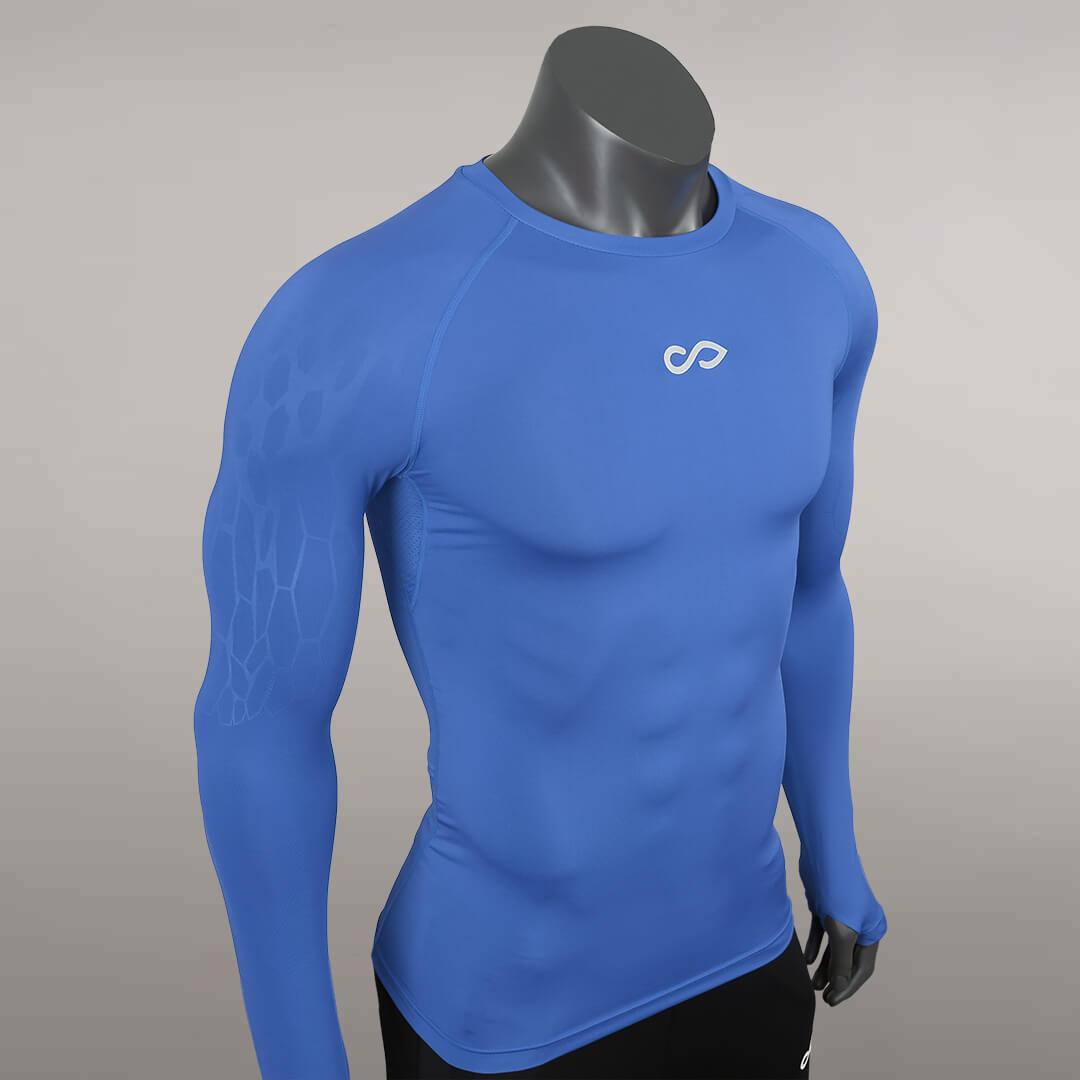 龙脉系列紧身衣系列蓝色细节图