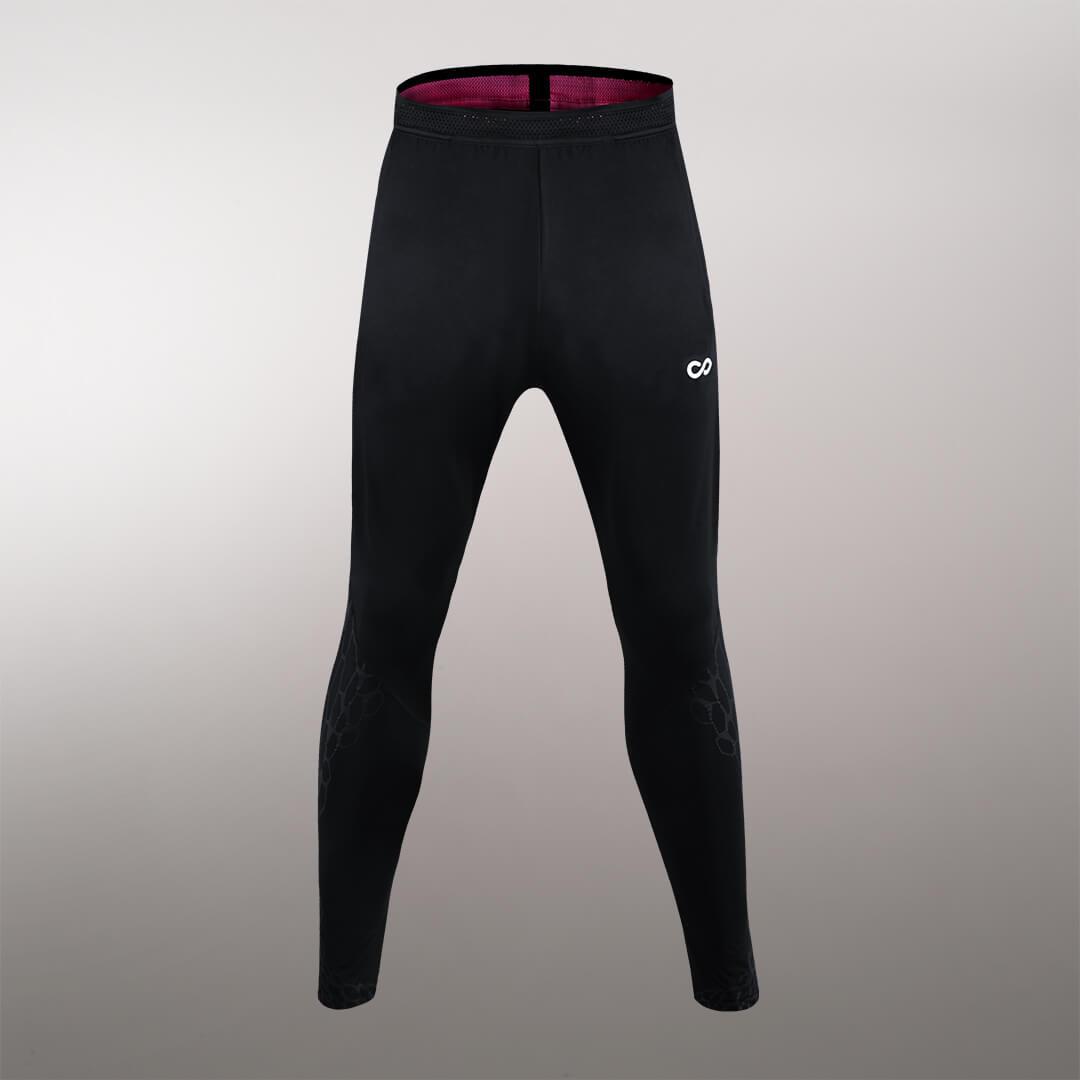 龍脈系列收腿褲系列黑色細節圖