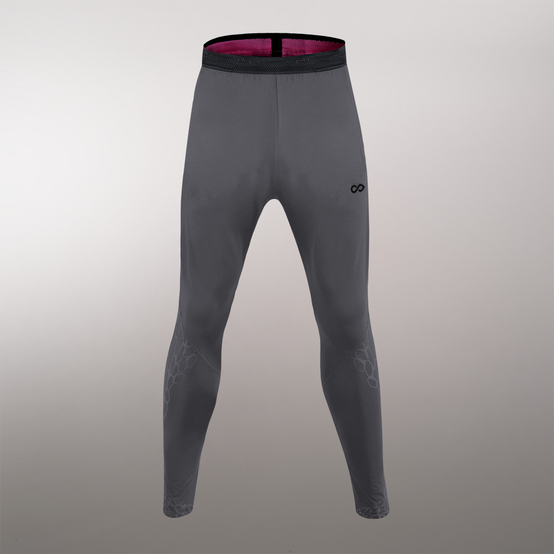 龙脉系列收腿裤系列灰色细节图