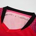 飛魚系列守門員比賽服紅色短袖衣領細節