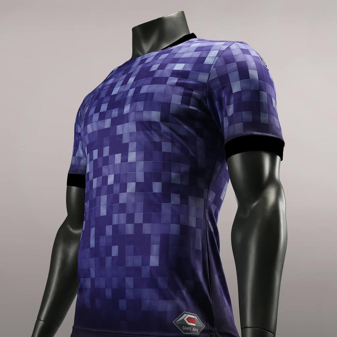 狂野出发之紫电清霜比赛服正面细节