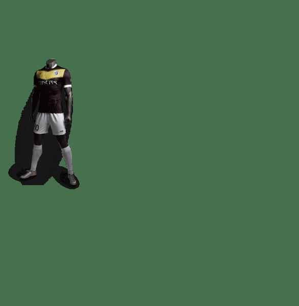 神兽系列玄武黑色款足球比赛服