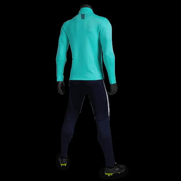 T 系列運動夾克薄荷綠背側面