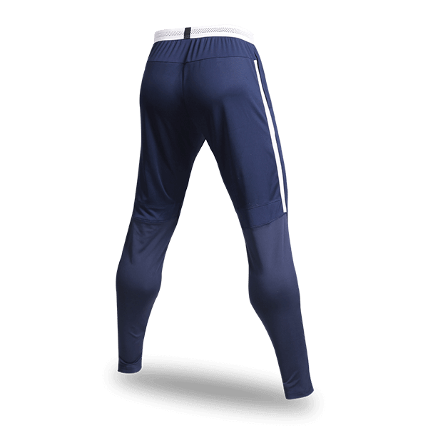 T 系列運動收腿褲藏藍背面