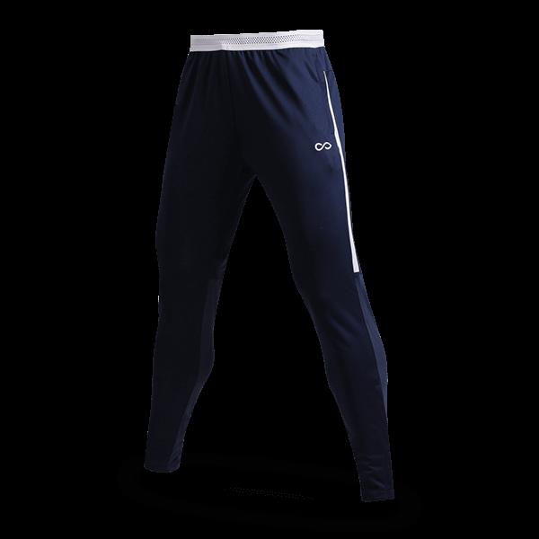 T 系列運動收腿褲藏藍正面